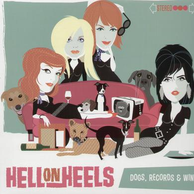 Hell On Wheels DOGS RECORDS & WINE Vinyl Record