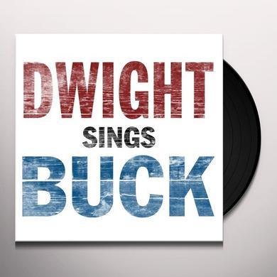 Dwight Yoakam DWIGHT SINGS BUCK Vinyl Record