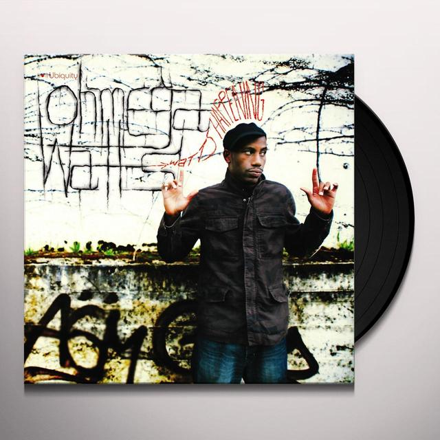 Ohmega Watts WATTS HAPPENING Vinyl Record