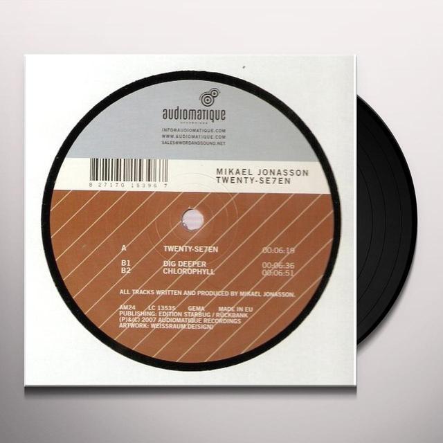 Mikael Jonasson TWENTY-SE7EN (EP) Vinyl Record