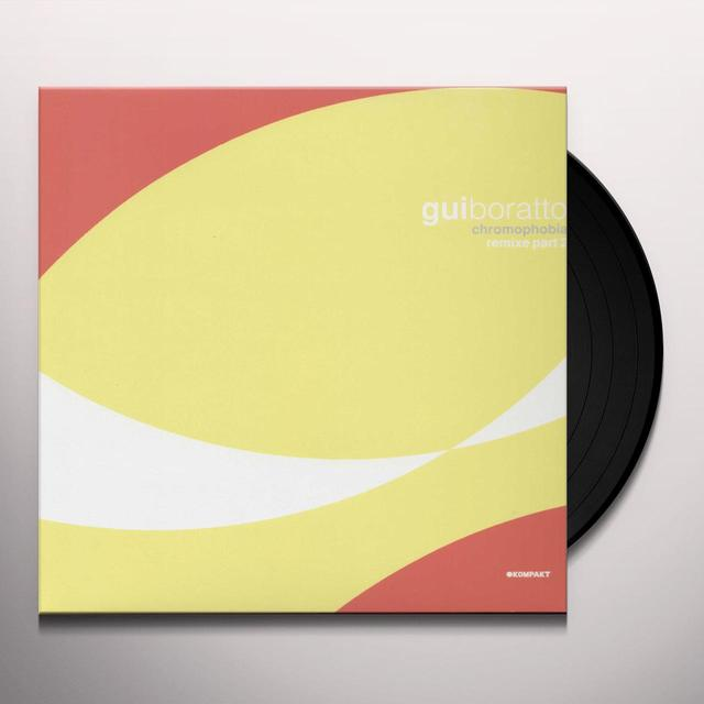 Gui Boratto CHROMOPHOBIA REMIXES 2 Vinyl Record