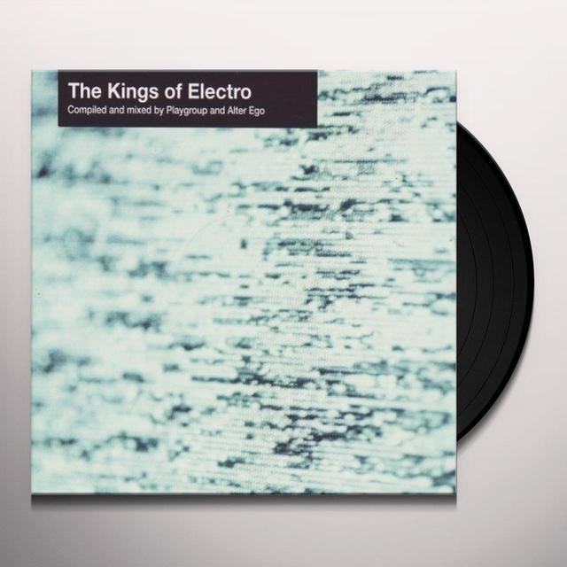Playgroup & Alter Ego KINGS OF ELECTRO: PART B Vinyl Record