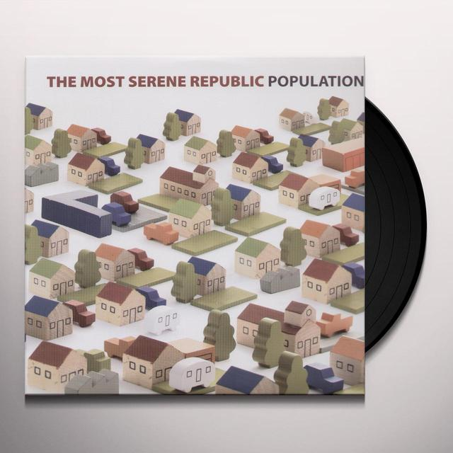 The Most Serene Republic POPULATION Vinyl Record