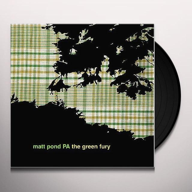 Matt Pond Pa GREEN FURY Vinyl Record