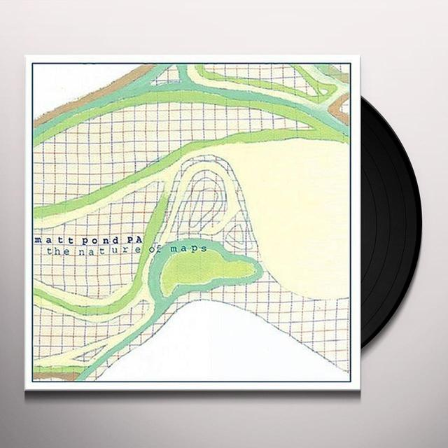 Matt Pond Pa NATURE OF MAPS Vinyl Record