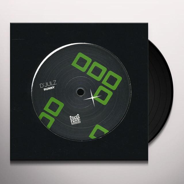 D'Julz RUNNY (EP) Vinyl Record