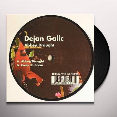 Dejan Galic ABBEY DRAUGHT (EP) Vinyl Record