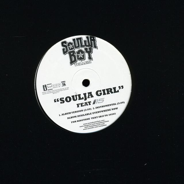 Soulja Boy Tell 'Em SOULJA GIRL (X2) Vinyl Record