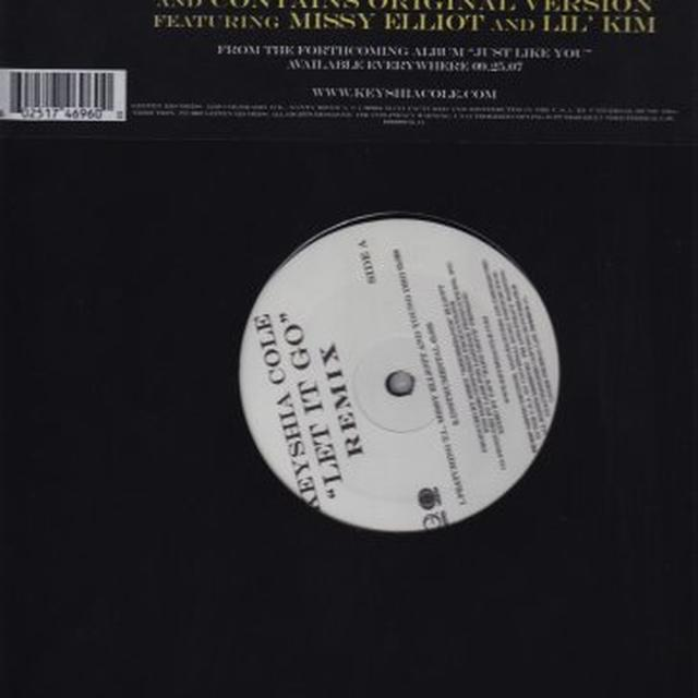 Keyshia Cole LET IT GO (X4) Vinyl Record