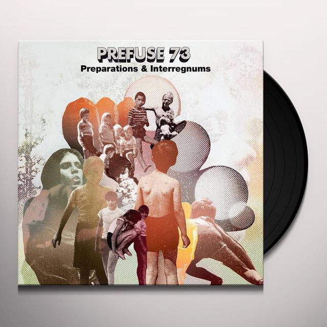 Prefuse 73 PREPARATIONS Vinyl Record
