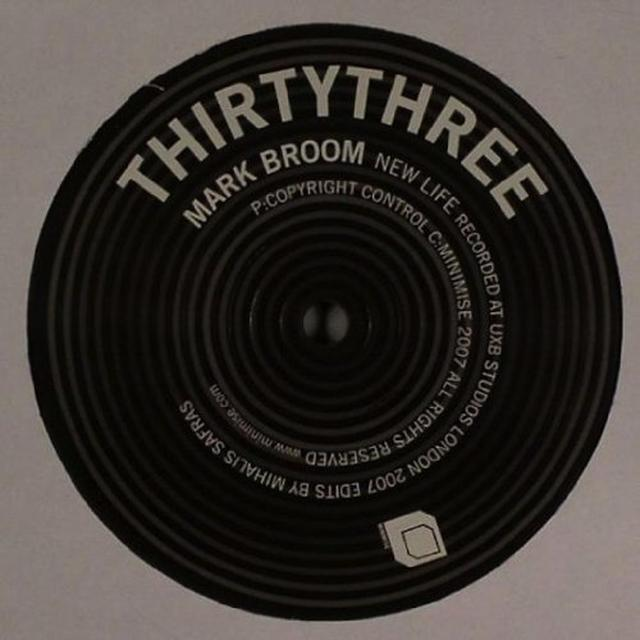 Mark Broom NEW LIFE (EP) Vinyl Record