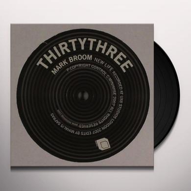 Mark Broom NEW LIFE (EP) Vinyl Record