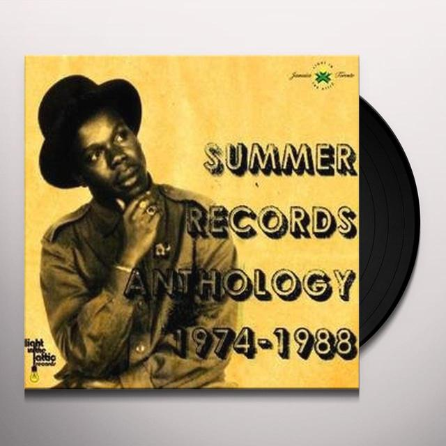 SUMMER RECORDS ANTHOLOGY 1974-1988 / VARIOUS Vinyl Record