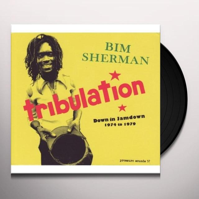 Bim Sherman TRIBULATION Vinyl Record