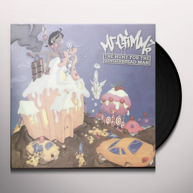 Mf Grimm HUNT FOR THE GINGERBREAD MAN Vinyl Record