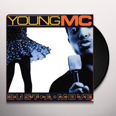 Young Mc BUST A MOVE / GOT MORE RHYMES Vinyl Record