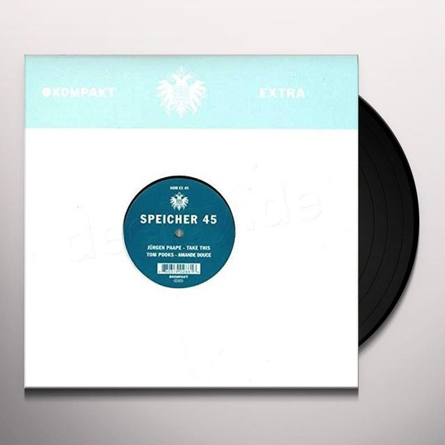 Jurgen Paape SPEICHER 45 Vinyl Record