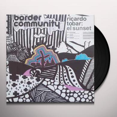 Ricardo Tobar SUNSET Vinyl Record