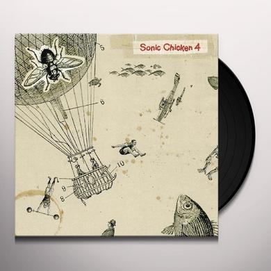 SONIC CHICKEN 4 Vinyl Record - w/CD