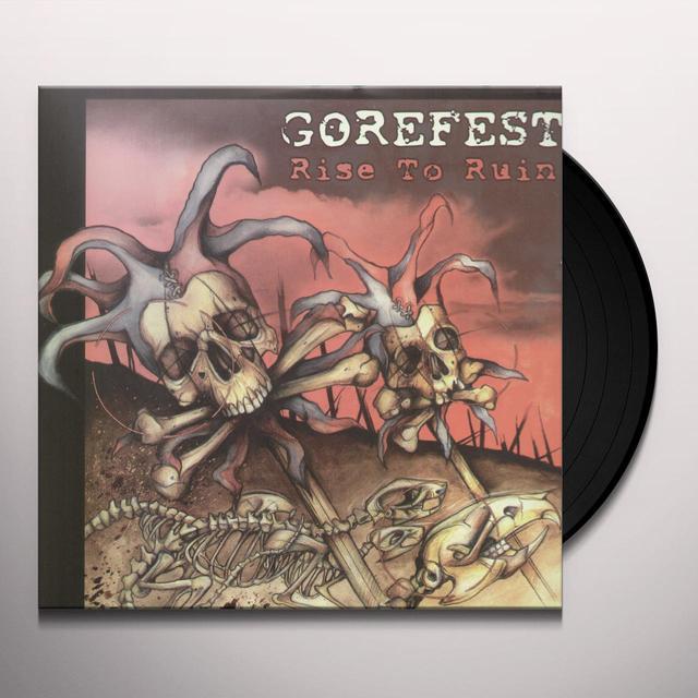 Gorefest RISE TO RUIN Vinyl Record