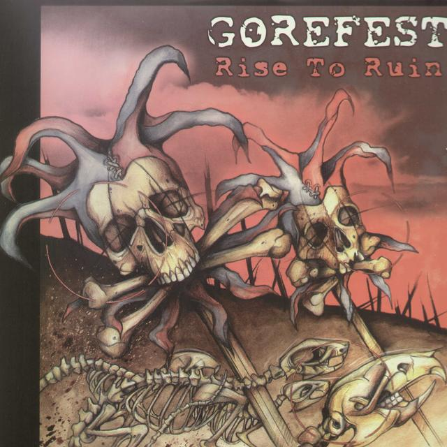 Gorefest RISE TO RUIN Vinyl Record - Limited Edition