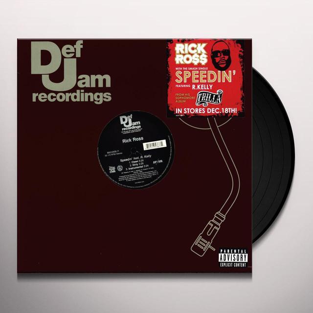 Rick Ross SPEEDING (X3) Vinyl Record
