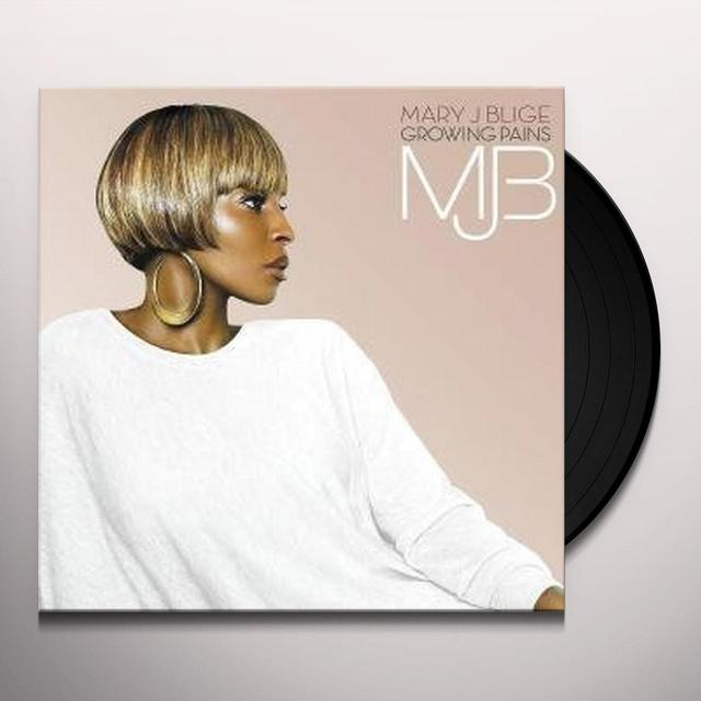 Mary J. Blige GROWING PAINS Vinyl Record
