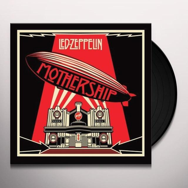 Led Zeppelin MOTHERSHIP Vinyl Record - 180 Gram Pressing, Remastered