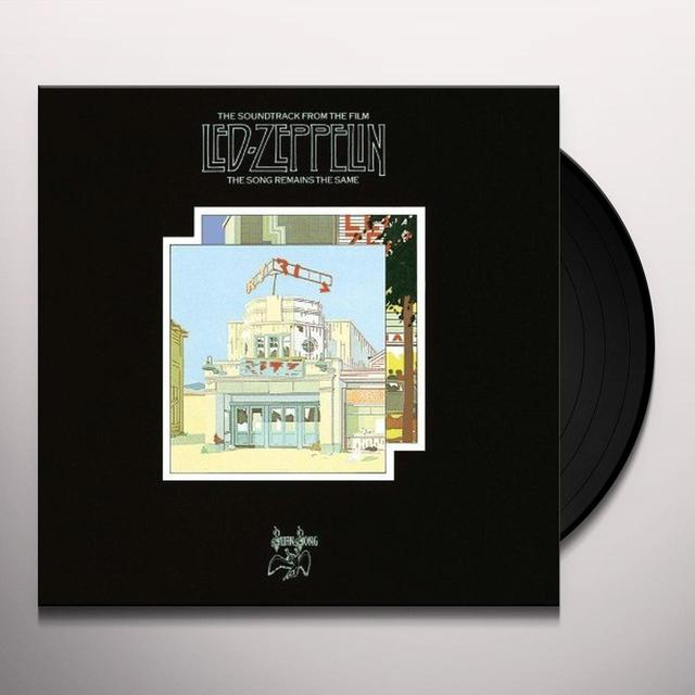 Led Zeppelin SONG REMAINS THE SAME (BONUS TRACKS) Vinyl Record - 180 Gram Pressing, Remastered