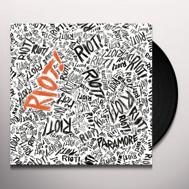 Paramore RIOT Vinyl Record