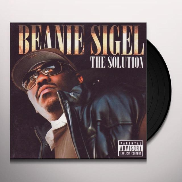 Beanie Sigel SOLUTION Vinyl Record
