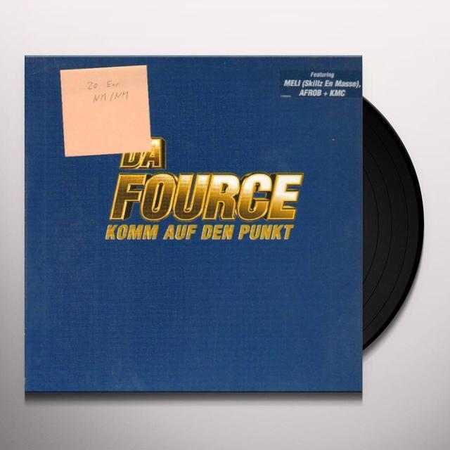 Da Fource KOMM AUF DEN PUNKT FEAT. MELI Vinyl Record
