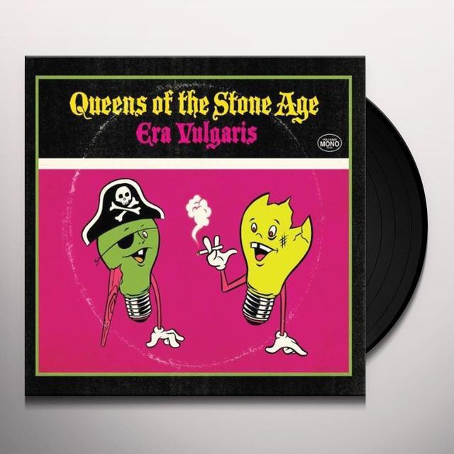 Queens Of The Stone Age ERA VULGARIS (BONUS TRACK) Vinyl Record