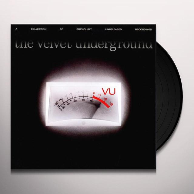 Velvet Underground VU Vinyl Record