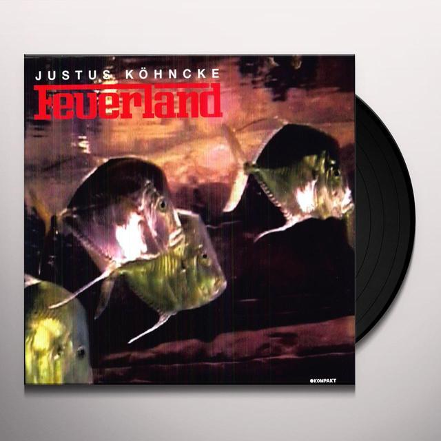 Justus Köhncke FEUERLAND (EP) Vinyl Record