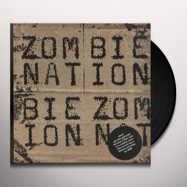 Zombie Nation GIZMODE Vinyl Record