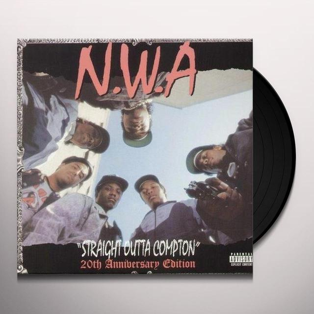 N.W.A. STRAIGHT OUTTA COMPTON: 20TH ANNIVERSARY EDITION Vinyl Record