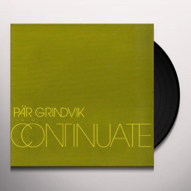 Par Grindvik CONTINUATE Vinyl Record