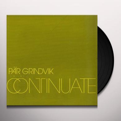 Par Grindvik CONTINUATE (EP) Vinyl Record