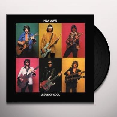 Nick Lowe JESUS OF COOL Vinyl Record