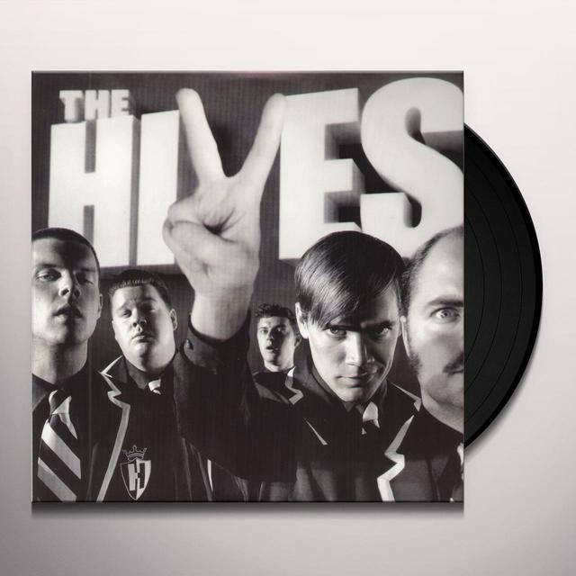 The Hives BLACK & WHITE ALBUM Vinyl Record