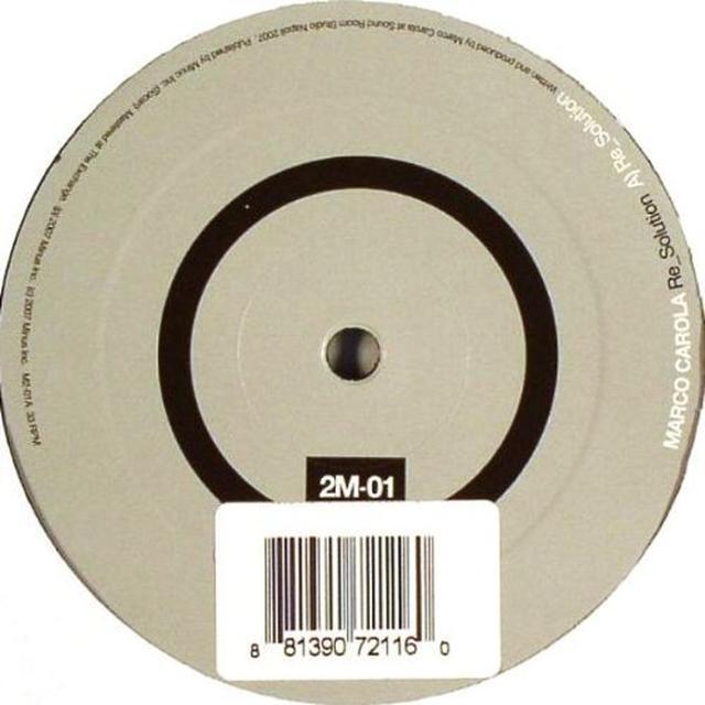 Marco Carola RE_SOLUTION Vinyl Record