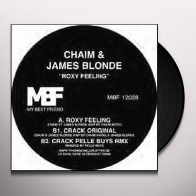James Chaim / Blonde ROXY FEELING Vinyl Record