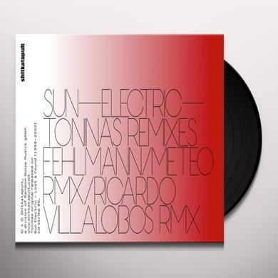 Sun Electric TONINAS REMIXES (EP) Vinyl Record
