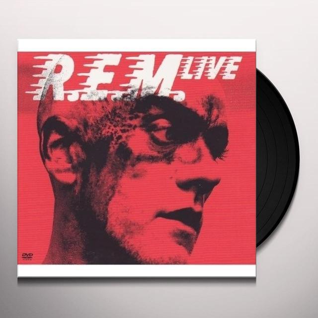 REM LIVE (BONUS DVD) Vinyl Record