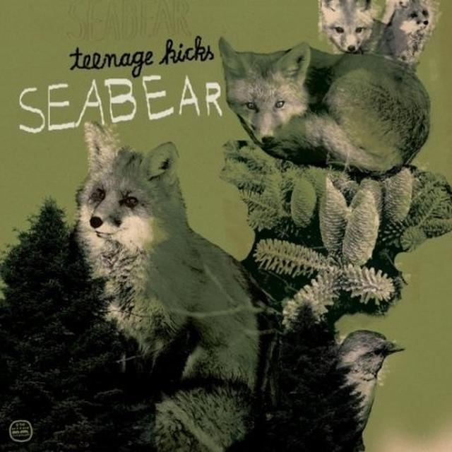 Seabear TEENAGE KICKS (EP) Vinyl Record