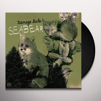 Seabear TEENAGE KICKS (EP) Vinyl Record
