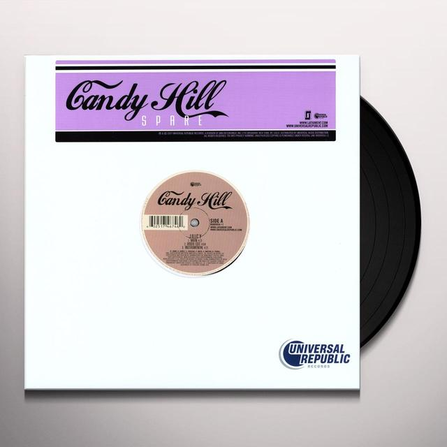Candy Hill SPARE (X3) / JUICY (X6) Vinyl Record