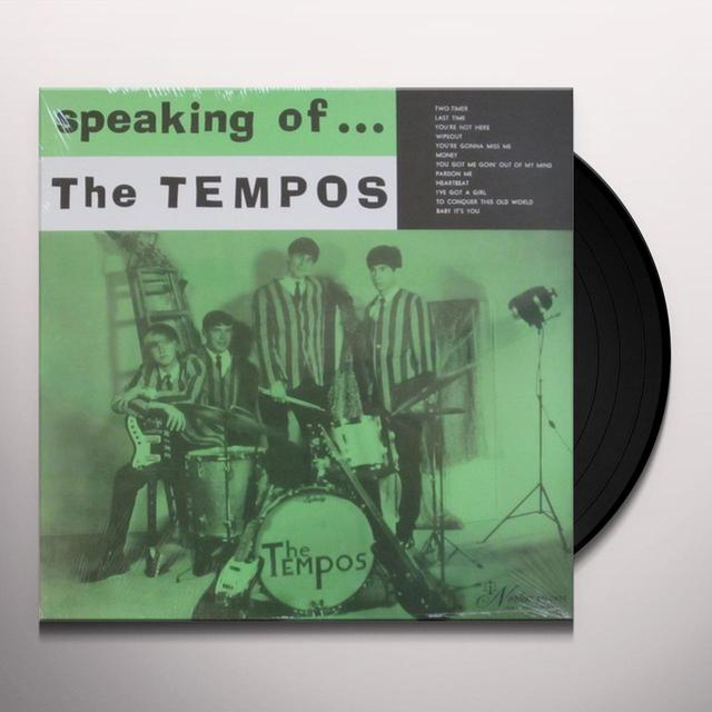 Tempos SPEAKING OF Vinyl Record