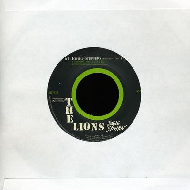 Lions JUNGLE STRUTTIN / ETHIO-STEPPERS Vinyl Record
